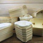 Foremki drewniane do pasztetów